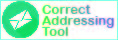 Correct Addressing tool